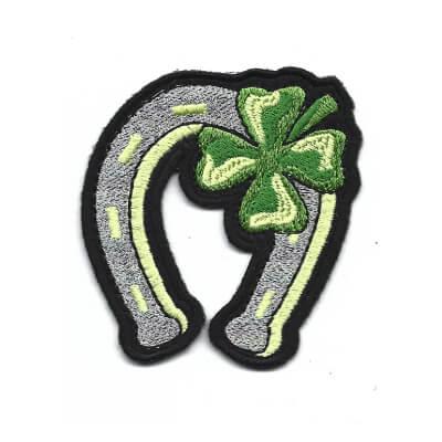 emblema Trevo com ferradura