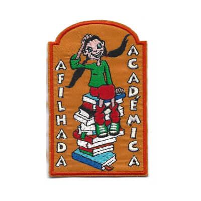 emblema afilhada academica