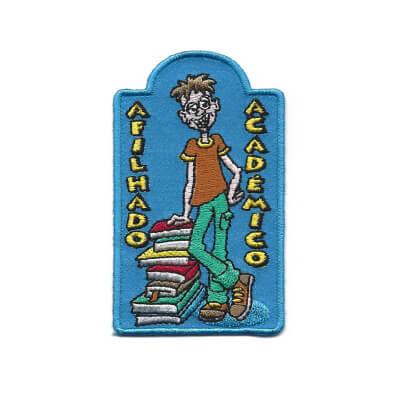 emblema afilhado academico