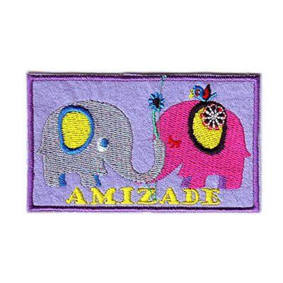 emblema amizade elefantes