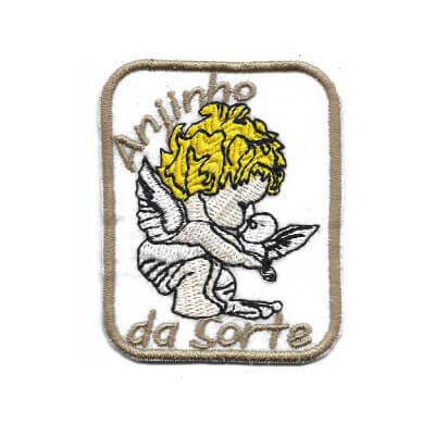 emblema anjinho da sorte