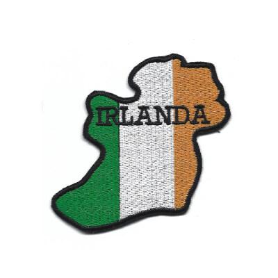 emblema bandeira irlanda