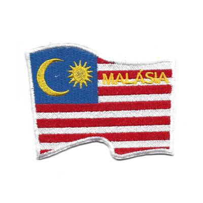 emblema bandeira malasia