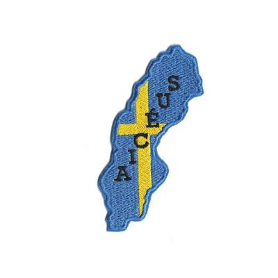 emblema bandeira suecia