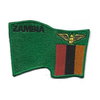emblema bandeira zambia