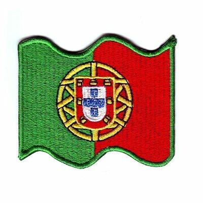 emblema bandeira portugal ondas