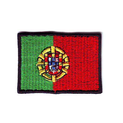 emblema bandeira portugal pequena