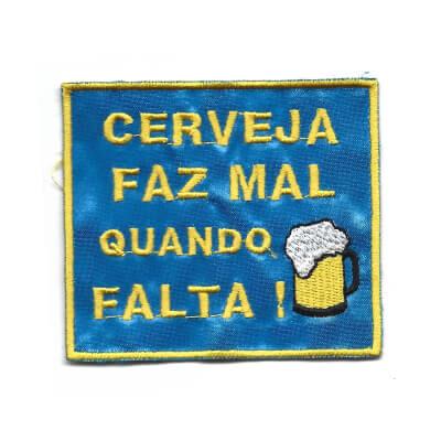 emblema cerveja faz mal quando falta