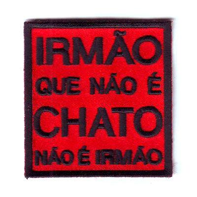 emblema chato irmao