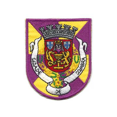 emblema cidade de coimbra brasao
