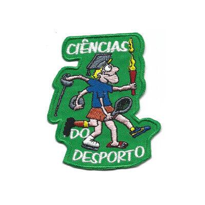 emblema ciencias do desporto