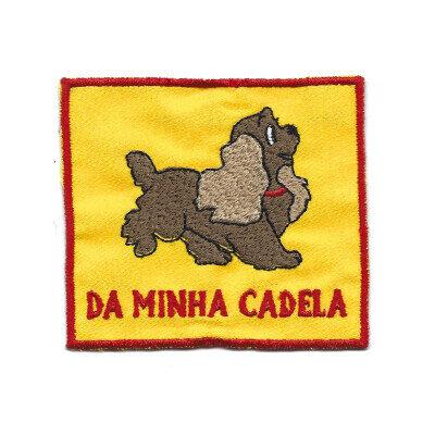 emblema da minha cadela