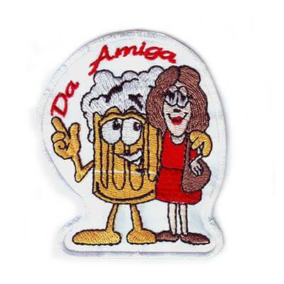 emblema da amiga cerveja