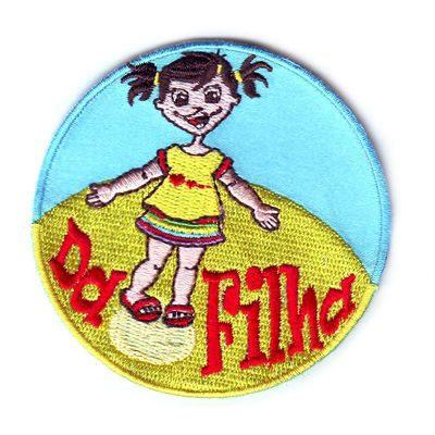 emblema da filha redondo
