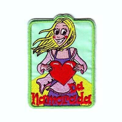emblema da namorada