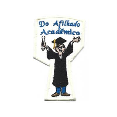 emblema do afilhado academico