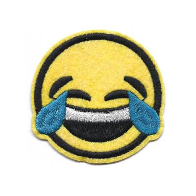 emblema emoji chorar a rir