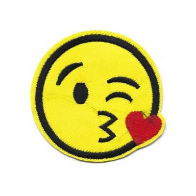 emblema emoji mandar beijinho