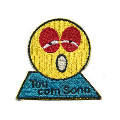 emblema emoji tou com sono
