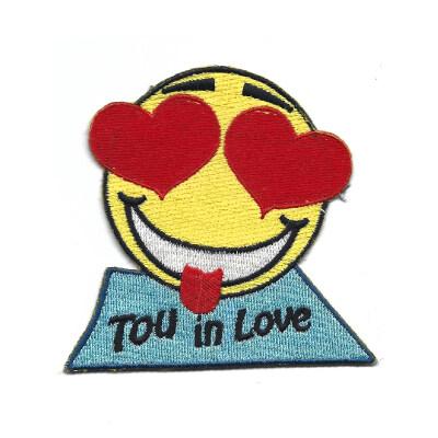 emblema emoji tou in love