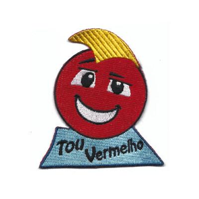 emblema emoji tou vermelho