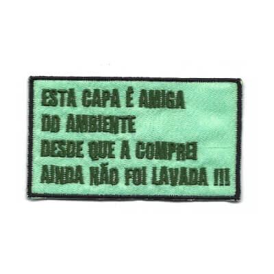 emblema esta capa e amiga do ambiente