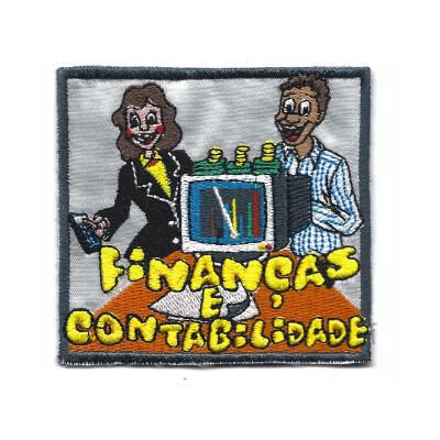 emblema financas e contabilidade