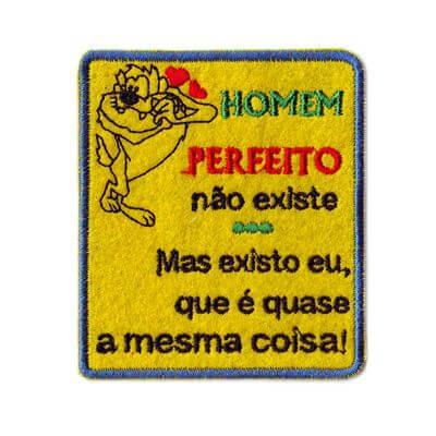 emblema homem perfeito