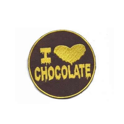 emblema i love chocolate