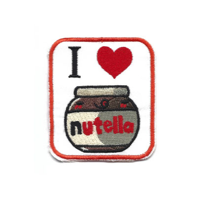 emblema i love nutella