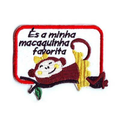 emblema macaquinha favorita