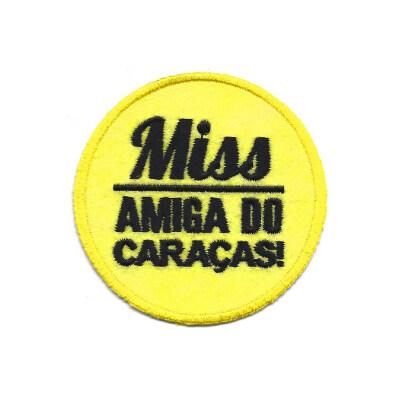 emblema miss amiga do caracas