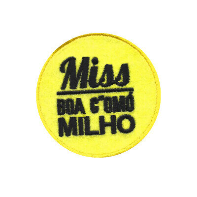emblema miss boa como milho