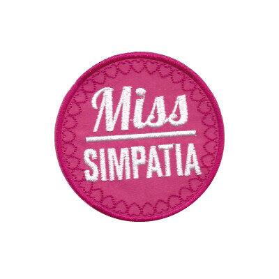 emblema miss simpatia