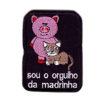 emblema orgulho madrinha