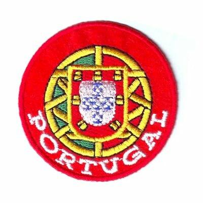 emblema portugal redondo vermelho