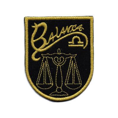 emblema signo balanca