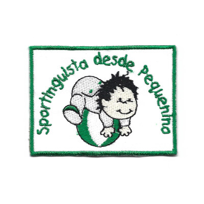 emblema sportingguista desde pequenino
