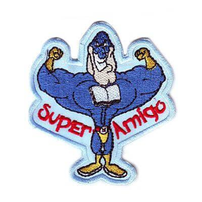 emblema super amigo