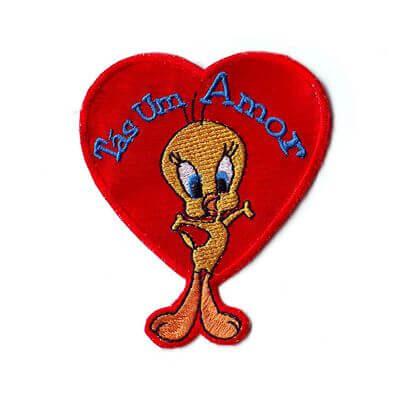 emblema tas um amor