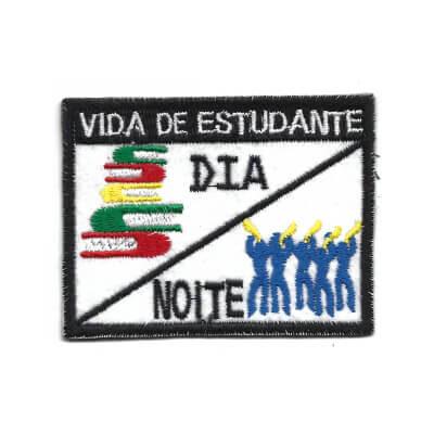 emblema vida de estudante