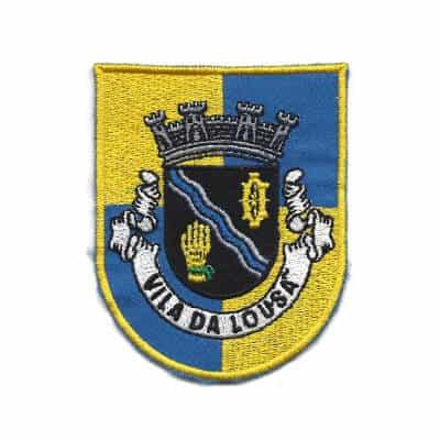 emblema vila da lousa brasao 1