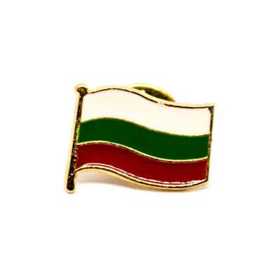pin bandeira bg