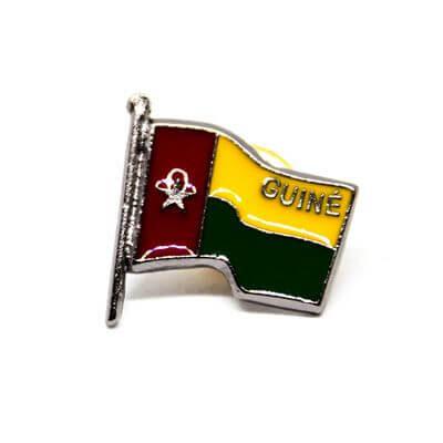 pin bandeira guine