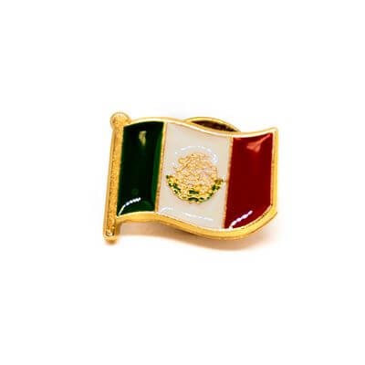 pin bandeira mx