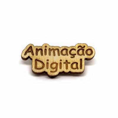pin madeira animacao digital