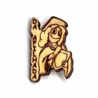 pin madeira da afilhada