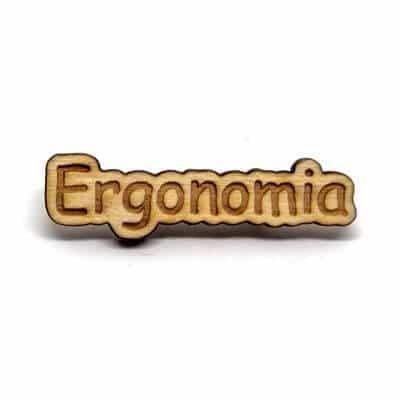 pin madeira ergonomia