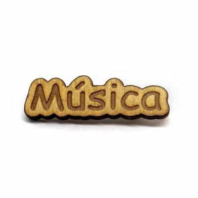 pin madeira musica