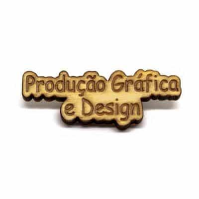pin madeira producao grafica design